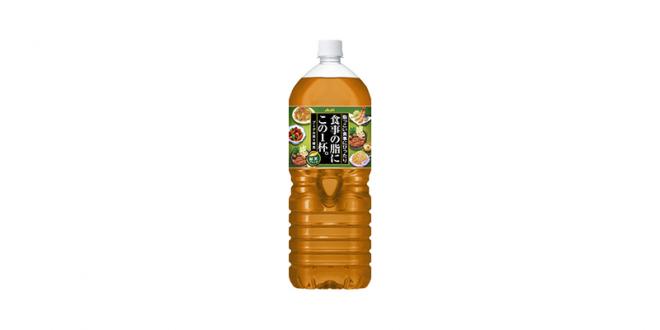 アサヒ 食事の脂にこの1杯。緑茶ブレンド