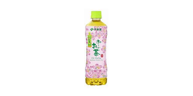 伊藤園 お~いお茶 緑茶 桜満開ボトル