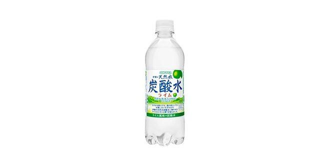 サンガリア 伊賀の天然水炭酸水ライム
