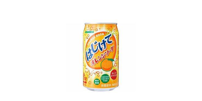サンガリア はじけてオレンジソーダ