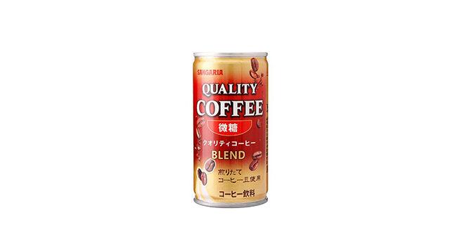 サンガリア クオリティコーヒー微糖